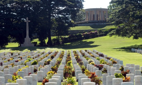 Bomana war cemetery png