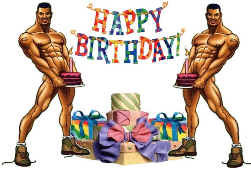 Happy birthday männer nackt