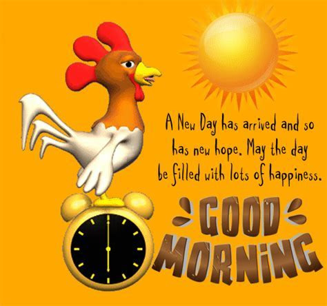 A New Day Has Arrived. Free Good Morning eCards, Greeting