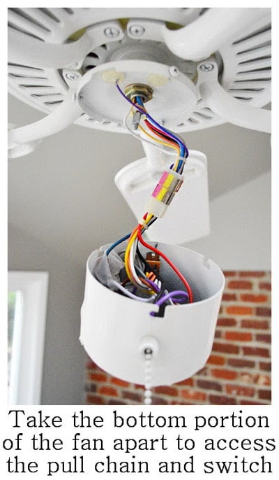 How To Replace A Ceiling Fan Switch