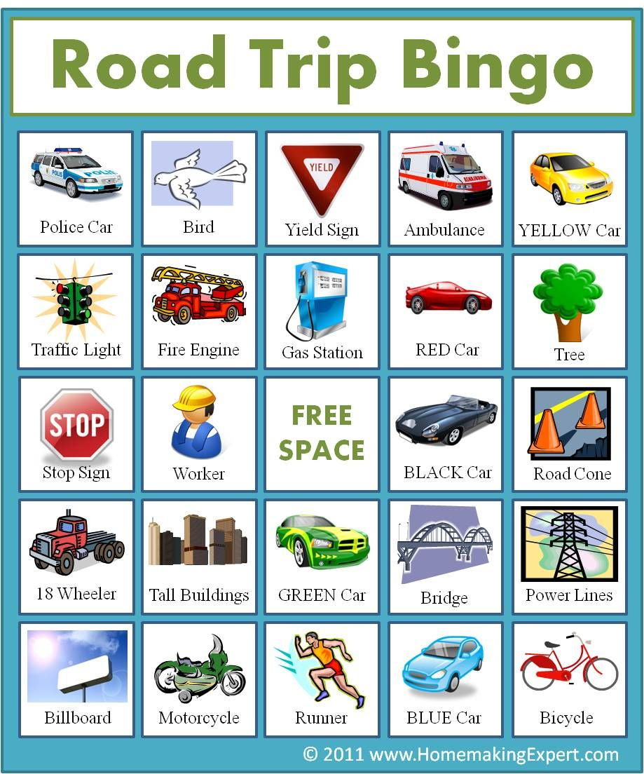 1000+ images about Travel Bingo Printables on Pinterest | License ...