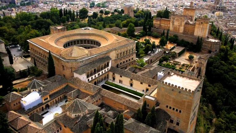 España a ras de cielo - La Alhambra de Granada