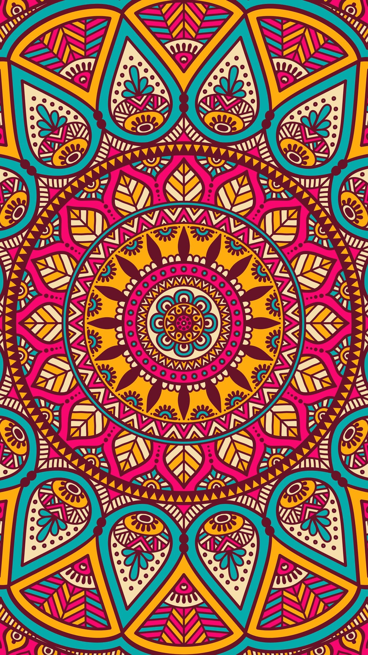Mandala Wallpaper iPhone 67+ images