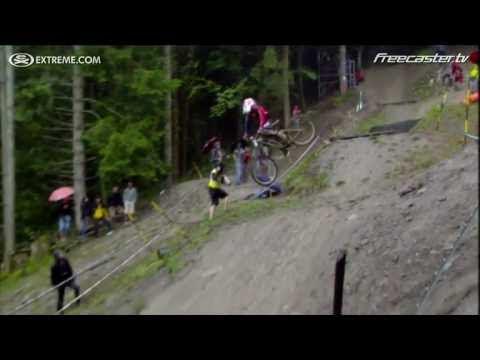 video con el descenso en mountain bike de Danny Hart