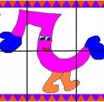 r 150x148 Crea entretenidos puzzles con las letras del abecedario
