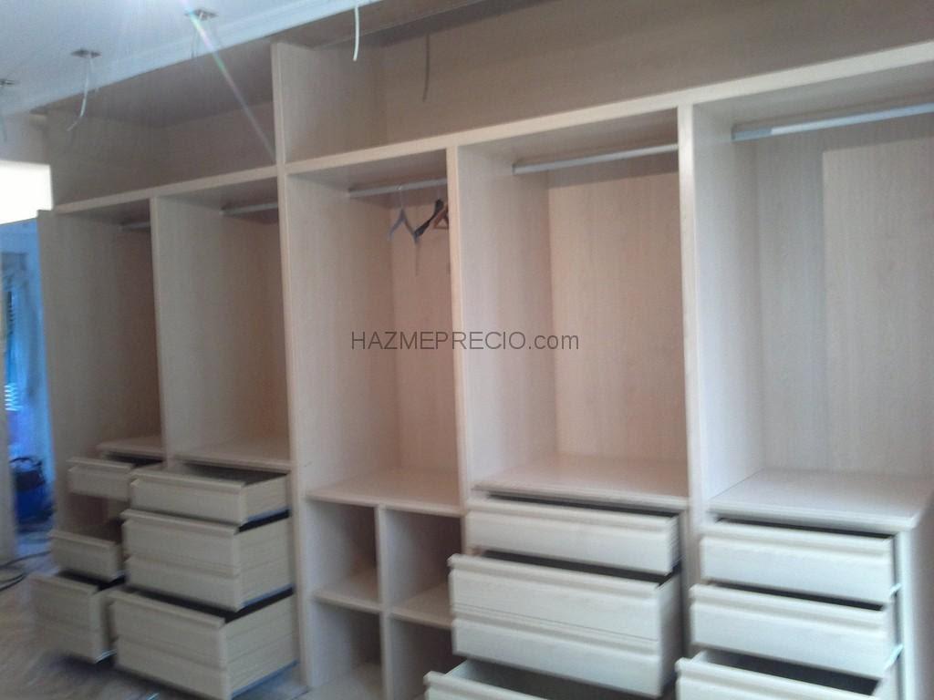 Dormitorio muebles modernos modulos de armarios empotrados for Modulos leroy merlin