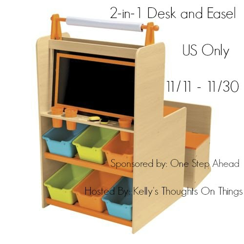 One Step Ahead 2 In 1 Desk And Easel Giveaway Mommy S