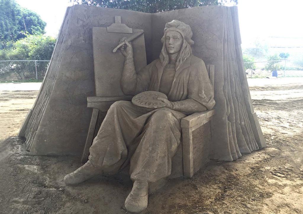 As extraordinárias esculturas de areia de Toshihiko Hosaka 26
