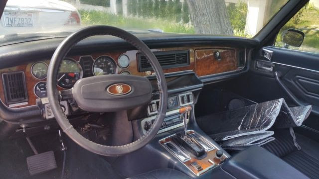 1975 JAGUAR XJ6C COUPE . WITH CHEVY CONVERSION. ALL ...
