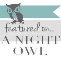 Featured on A Night Owl's Instagram Blog Hop