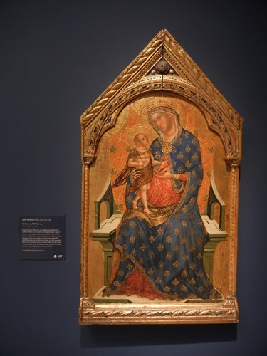 DSCN7704 _ Madonna and Child, c. 1340, Paolo Veneziano (active 1333-1358), Norton Simon Museum, July 2013