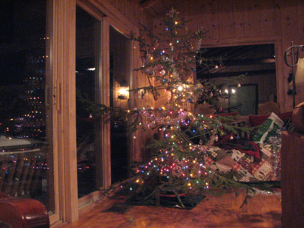 The sincere tree, decorated