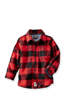OshKosh B'gosh® Buffalo Check Flannel Shirt Boys 4-7