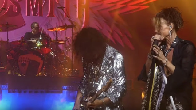 AEROSMITH Plays Second MGM National Harbor Show In A Row Without JOEY KRAMER (Video)