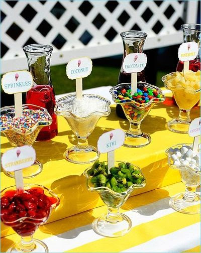 K'Mich Weddings - wedding planning - desserts - ice-cream station- Juxtapost