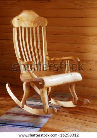 Wooden rocking chairs Stock Photos, Wooden rocking chairs Stock ...