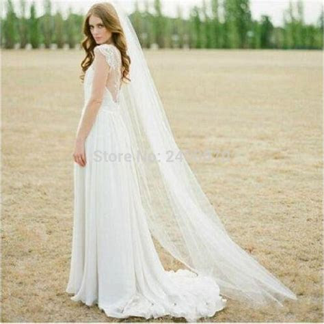 Aliexpress.com : Buy 2016 In Stock Simple Bridal Veils