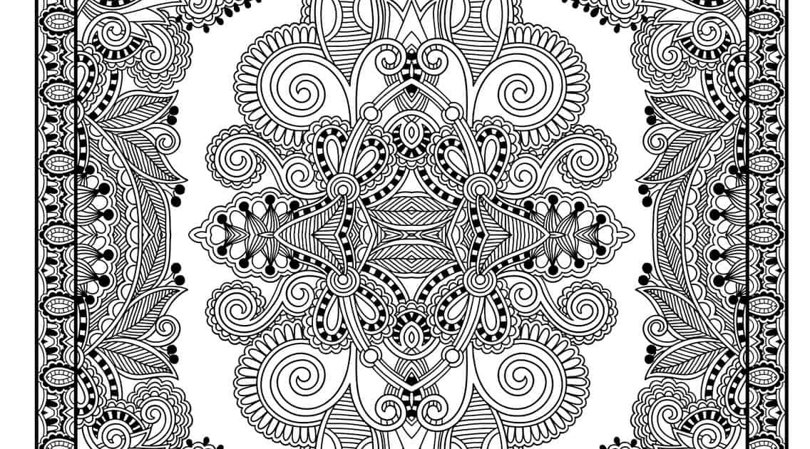 mandalas zum ausmalen schmetterling  ausmalbilder