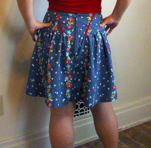 Sewaholic Crescent skirt