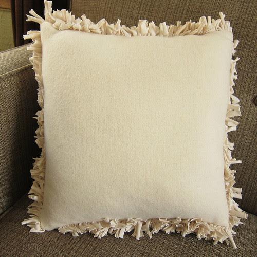 Iron Craft '13 #5 - Shaggy T-Shirt Pillow