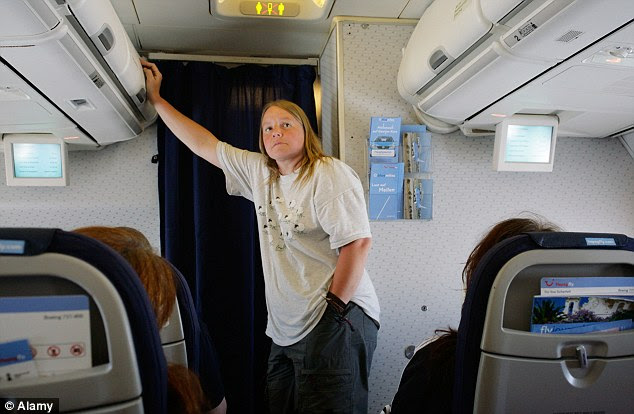 Seriously, when will this guy be done? Nothing feels longer than the wait for the toilet at 36,000ft