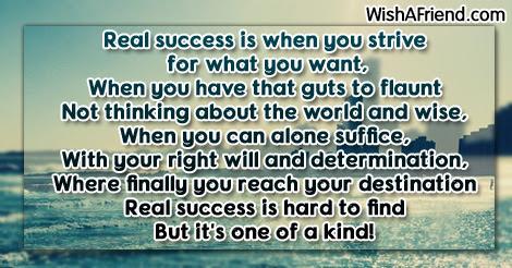 Success Poems