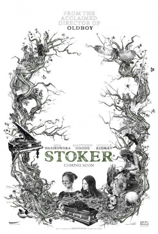 Risultati immagini per stoker movie poster