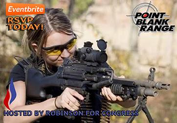 RSVP today for the Vernon Robinson Machine Gun Social fundraiser!