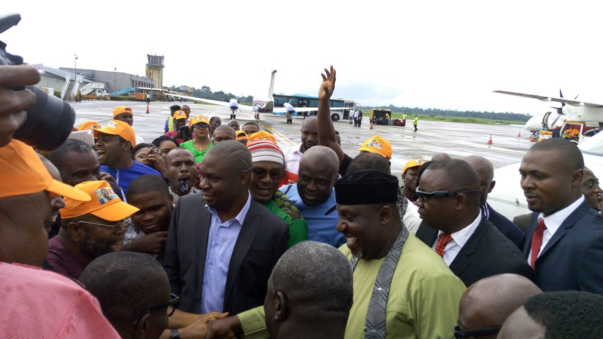"Okorocha Back To Owerri: ""I Went To Land Of The Dead, Ancestors Turned Me Back"" (Pic)"