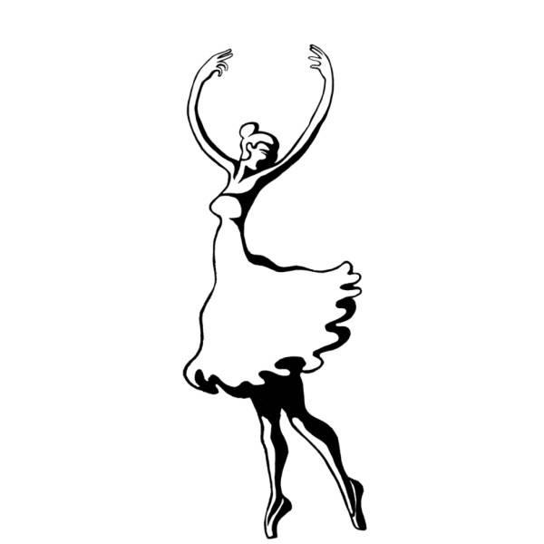 Disegni Di Ballerine Classiche Da Stampare Disegni Da Colorare