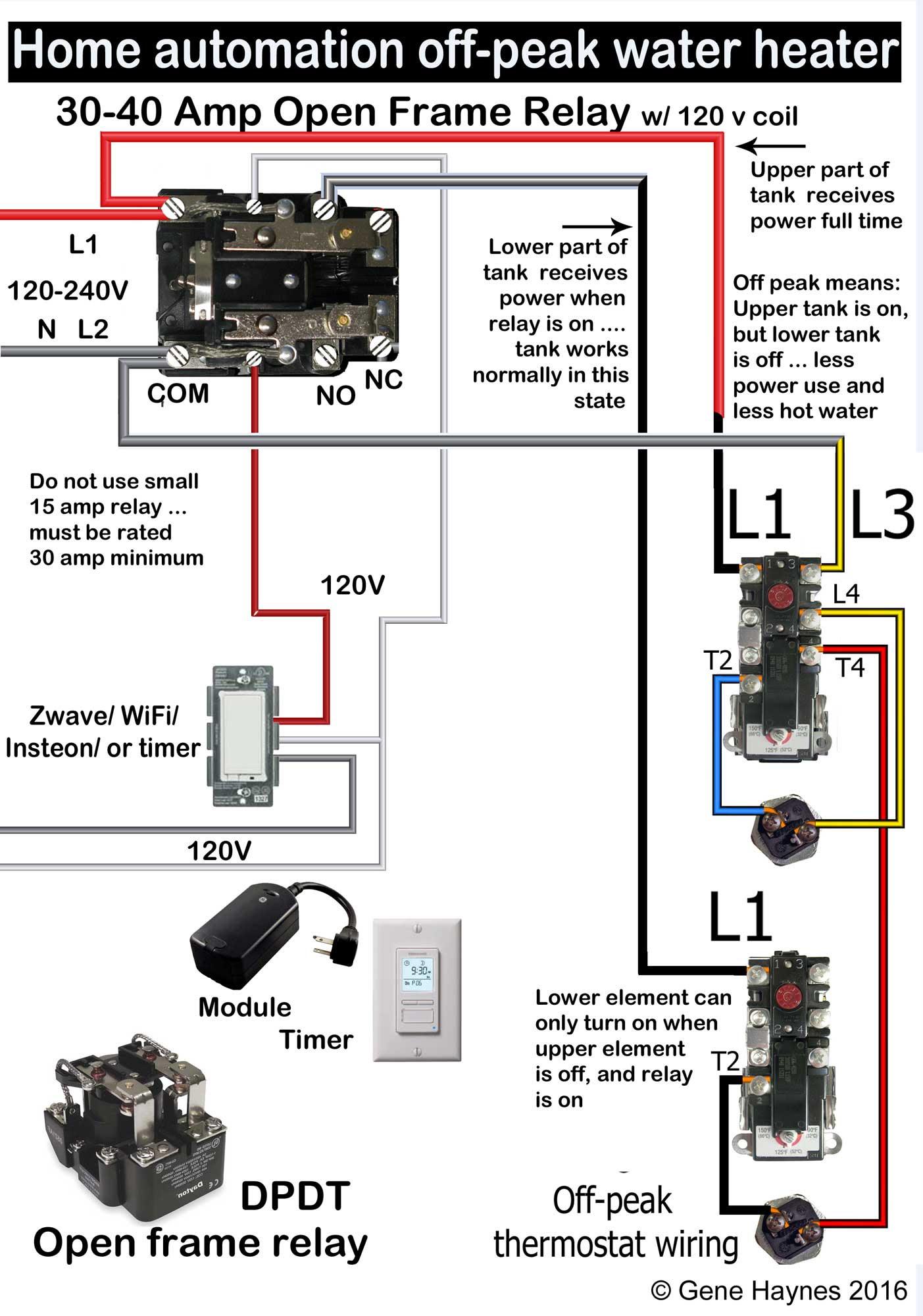 40 Amp Relay Wiring Diagram