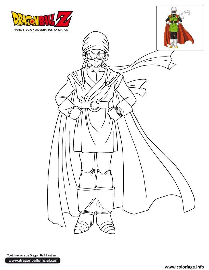best coloriage dbz gohan sous les traits du great saiyaman dragon ball z officiel dessin imprimer with coloriage dragon ball z
