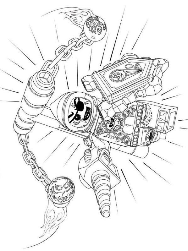 21 New Ausmalbilder Kostenlos Lego Marvel: Ausmalbilder Nexo Knights
