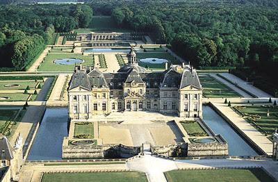 The gardens of Vaux-le-Vicomte