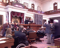 Governor Rick Perry Sworn In