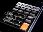 Dominic Alves' iphone calculator photo