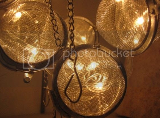 Tea Strainers lamps