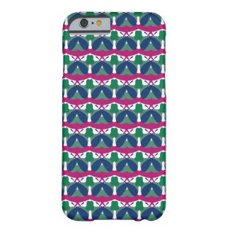 Magenta Blue Lovers iPhone 6 Barely There Case Barely There iPhone 6 Case