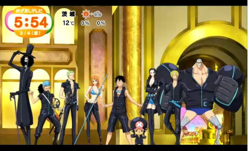 One Piece Film Gold Movie Setting Images Unveiled