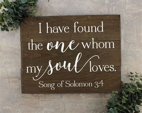 Quotes About Wedding : I Have Found the One Whom my Soul