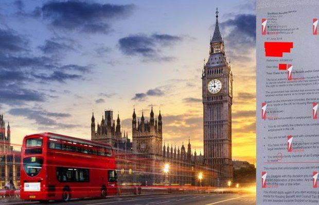 ΕΓΓΡΑΦΟ ΝΤΟΚΟΥΜΕΝΤΟ! Στην Αγγλία δεν αναγνωρίζουν τους Έλληνες ως Ευρωπαίους πολίτες! (ΦΩΤΟ)