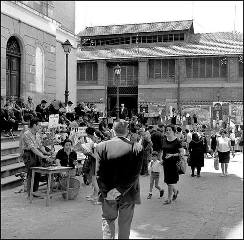 John Fyfe, Plaza Mayor. Toledo.