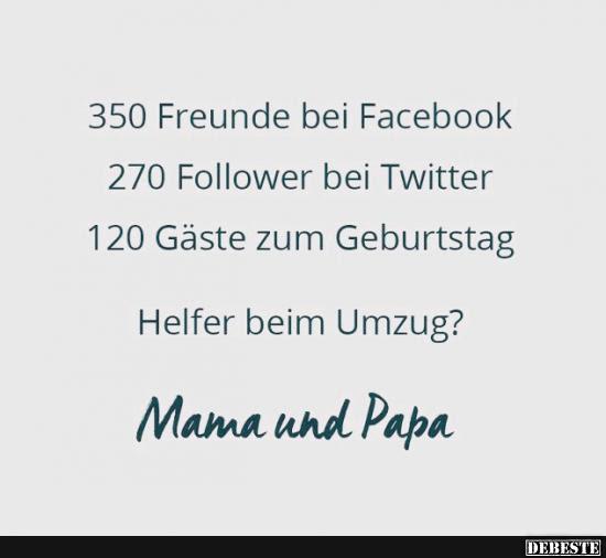 350 Freunde Bei Facebook Lustige Bilder Sprüche Witze Echt Lustig