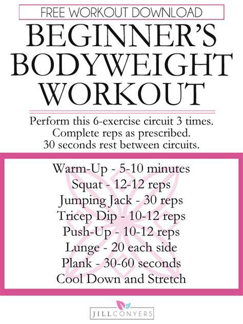 beginners  equipment needed workout  women jill