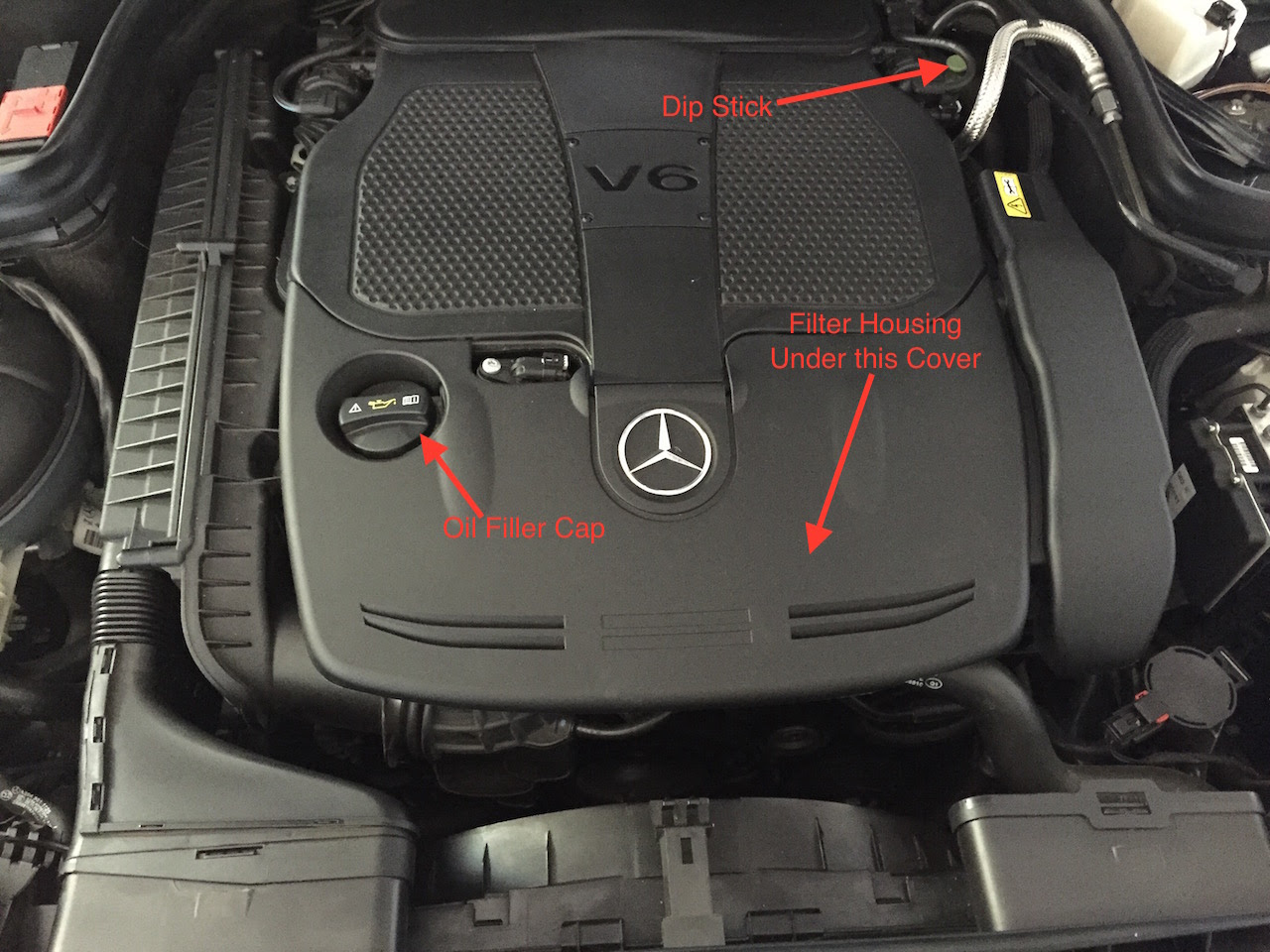 Pictorial Oil Change for E350 - MBWorld.org Forums