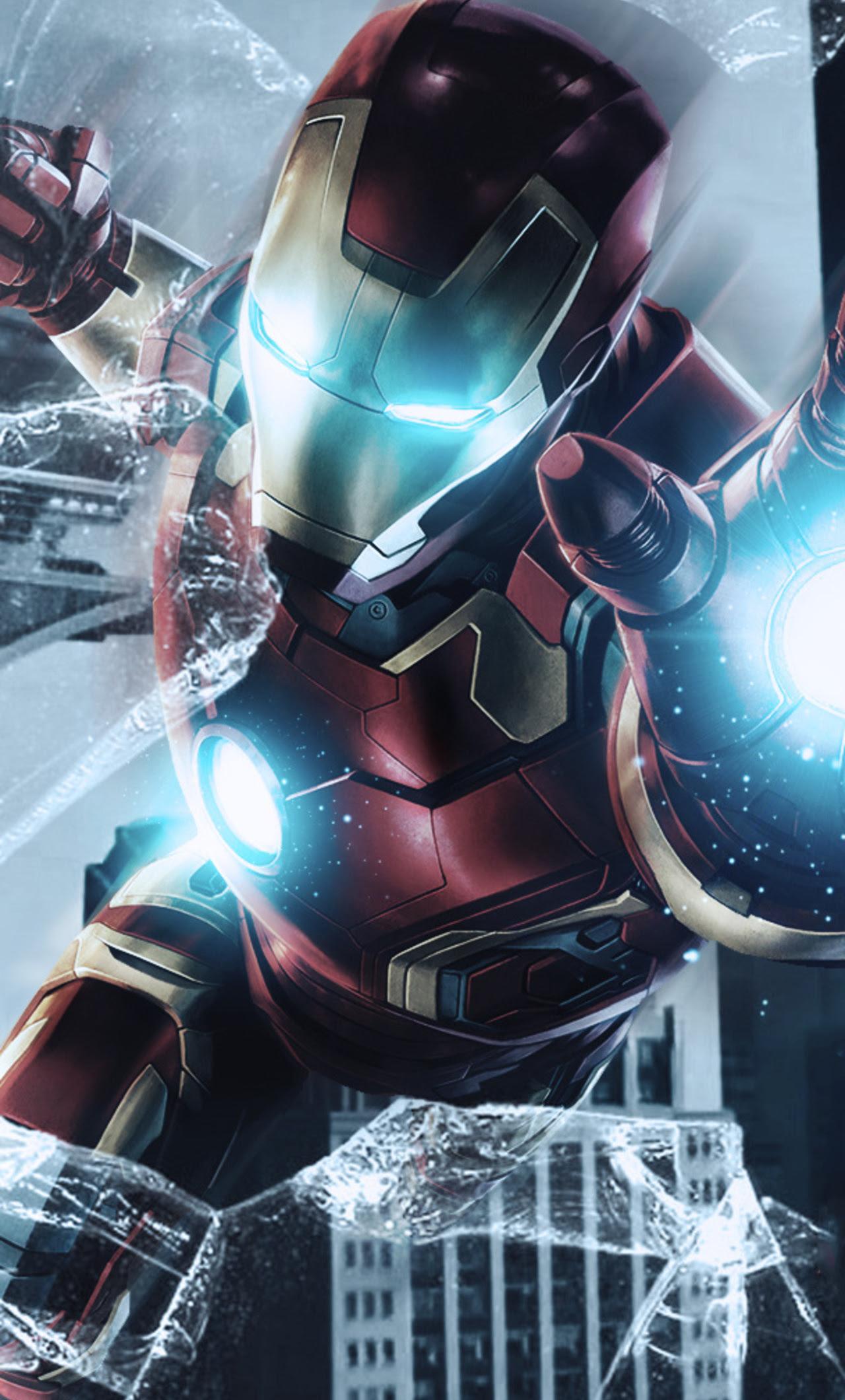 1280x2120 Iron Man Avengers Endgame Poster iPhone 6+ HD 4k ...