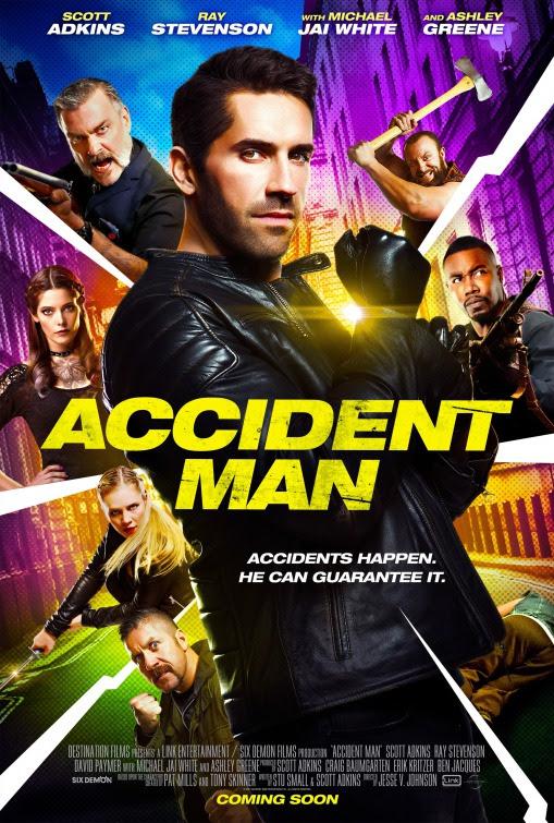 Resultado de imagem para movie poster Accident Man