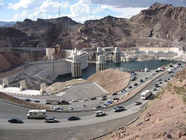 The engineering feat that is the Hoover Dam.