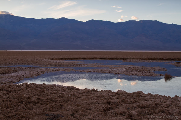 reflections near Badwater, Death Valley National Park