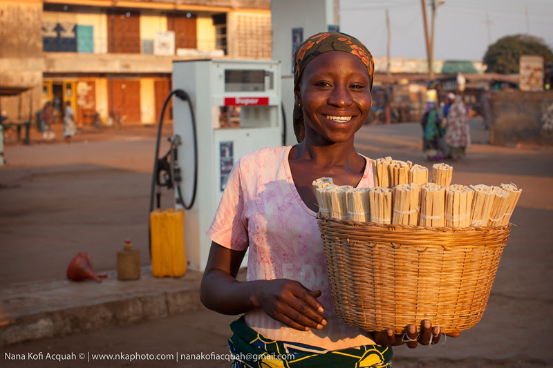 Chewing Stick Seller